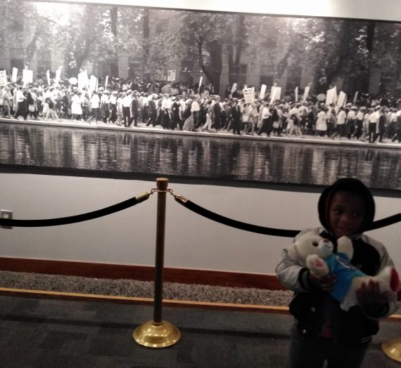 Our Trip to the King Center Atlanta on MLK Day