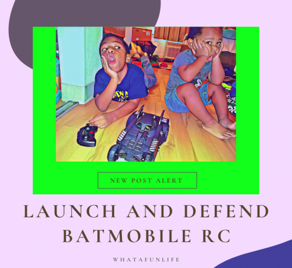 R+R's Rave Reviews | Spinmaster Launch and Defend Batmobile RC
